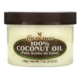 Cococare, 100% кокосовое масло, 7 унций (198 г)