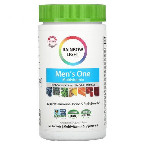 Rainbow Light, Just Once, #1 для мужчин, мультивитамин на пищевой основе, 150 таблеток