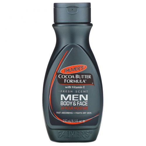 Palmer's, Формула масла какао с витамином Е, мужской, для тела и лица, 250 мл (8,5 жидких унций)