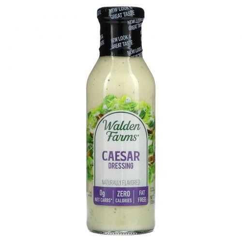 Walden Farms, Заправка для салата Цезарь, 12 жидких унций (355 мл)
