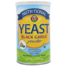 KAL, Nutritional Yeast Black Garlic Powder, 6 oz (170 g)