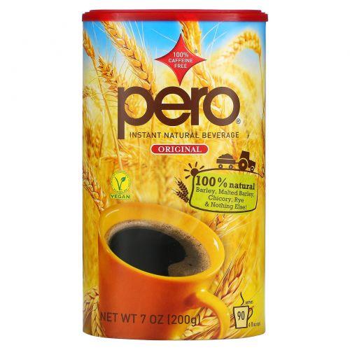 Pero, Натуральный растворимый напиток без кофеина, 7 унций (200 г)