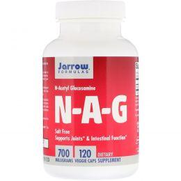 Jarrow Formulas, N-A-G (N-ацетилглюкозамин), 700 мг, 120 вегетариансикх капсул
