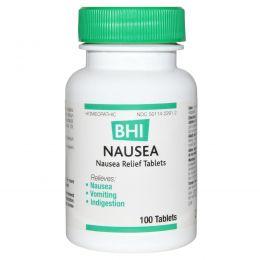 MediNatura, BHI, от тошноты, 100 таблеток