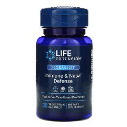 Life Extension, Florassist назальный, 30 вегетарианских капсул
