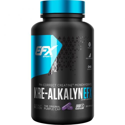 EFX Sports, Kre-Alkalyn EFX, 120 капсул