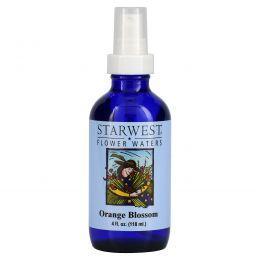 Starwest Botanicals, Цветочная апельсиновая вода, 118 мл