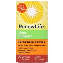Renew Life, Предельная Поддержка Печени 90 овощных капсул