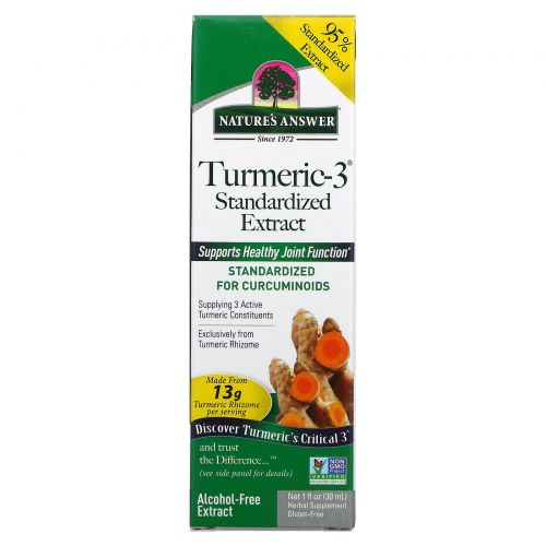 Nature's Answer, Turmeric-3, 5,000 mg, 1 fl oz (30 ml)