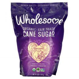 Wholesome Sweeteners, Inc., Органический тростниковый сахар, 64 унции (1,81 кг)