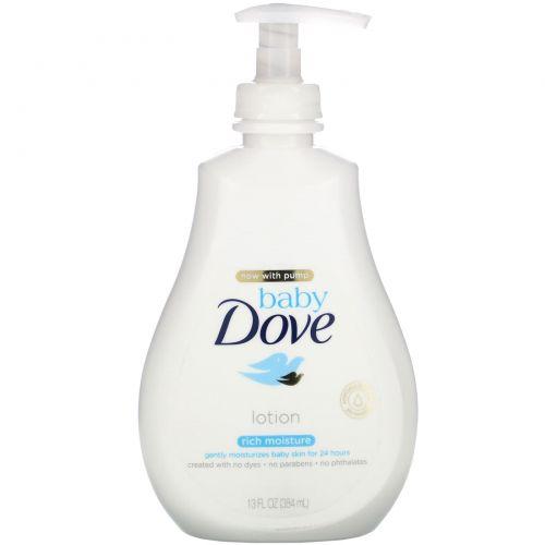 Dove, Baby, насыщенный увлажняющий лосьон, 384мл