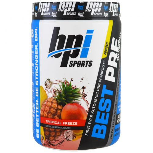 BPI Sports, Best Pre Workout, Tropical Freeze, 11.11 oz (315 g)