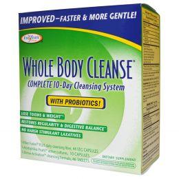 Enzymatic Therapy, Очищающее средство для тела, Полная 10-дневная система очищения, программа состоит из 3 частей