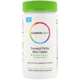 Rainbow Light, Пренатальные мультивитамины, 180 мини-таблеток