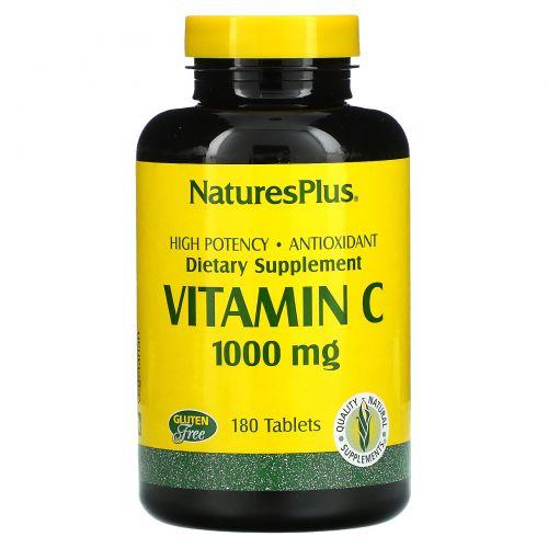 Nature's Plus, Витамин С 180 таблеток