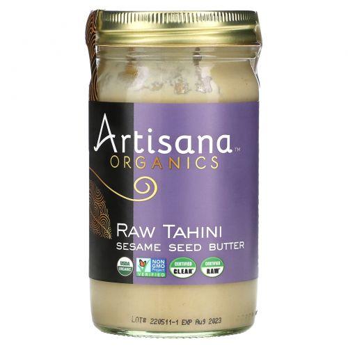 Artisana, Тахини, масло из семян кунжута, 397 г (14 унций)