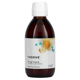 Thorne Research, Omega Superb – Lemon Berry Fish Oil, 8.45 fl oz