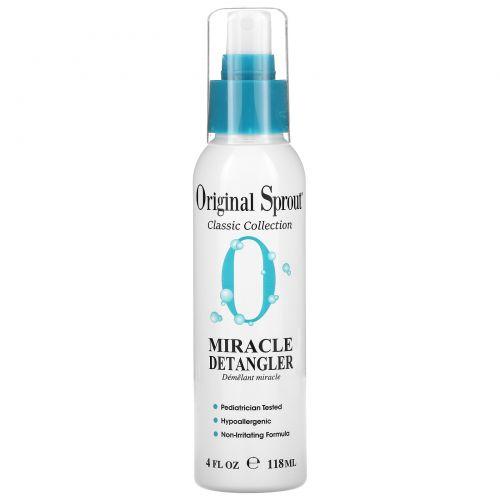Original Sprout Inc, Чудо-средство для облегчения расчёсывания волос, для младенцев и тех, кто постарше, 118 мл