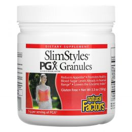 Natural Factors, SlimStyles, Полигликомплекс в гранулах, Без ароматизаторов, 5,3 унции (150 г)