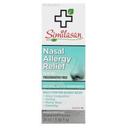 Similasan, Назальный аэрозоль от аллергии, 0.68 жидких унций (20мл)