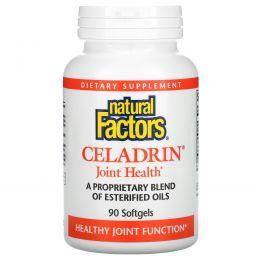 Natural Factors, Целадрин, Здоровье суставов, 90 желатиновых капсул