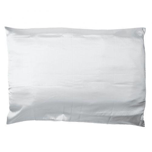Giovanni, Satin Pillowcase, Elegant Silver,  1 Pillowcase