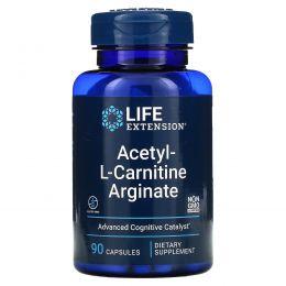Life Extension, Acetyl-L-Carnitine Arginate, 90 Vegetarian Capsules