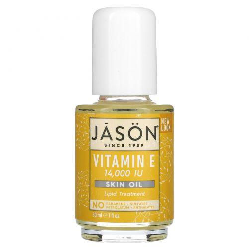 Jason Natural, Витамин E, 14,000 МЕ, 1 жидкая унция (30 мл)