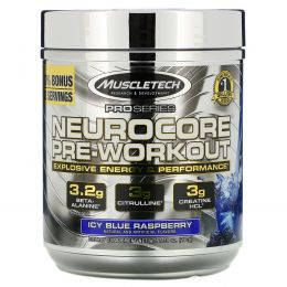 Muscletech, Pro Series, Nuerocore Pre-Workout, Icy Blue Raspberry, 8.99 oz (255 g)