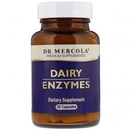 Dr. Mercola, Dairy Enzyme, 30 Capsules