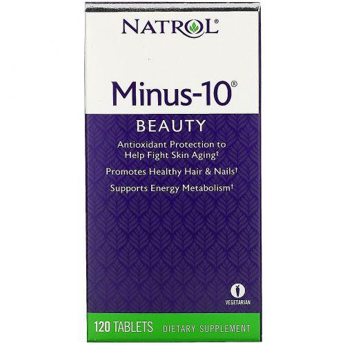 Natrol, Minus-10, 120 таблеток
