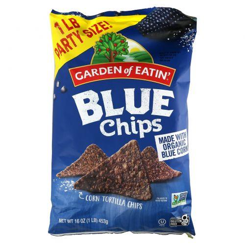 Garden of Eatin', All Natural Tortilla Chips, Blue Chips, 16 oz (453 g)