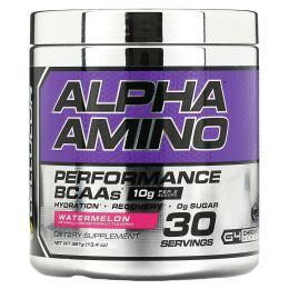 Cellucor, Alpha Amino, аминокислоты с разветвленной цепью для эффективности тренировок, арбуз, 13,4 унции (381 г)