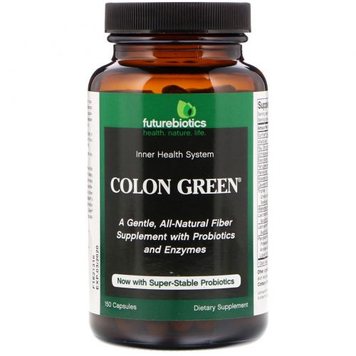 FutureBiotics, Colon Green, 150 капсул