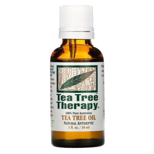 Tea Tree Therapy, Масло чайного дерева, 1 жидкая унция (30 мл)