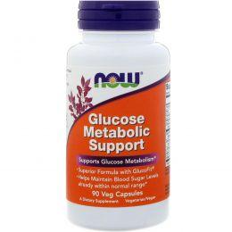 Now Foods, Продукт для поддержания метаболизма глюкозы, 90 растительных капсул