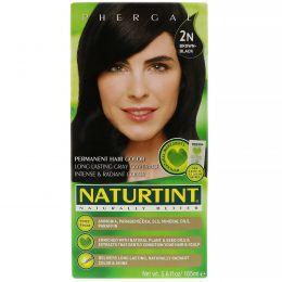 Naturtint, Стойкая краска для волос, 2N Темный каштан, 5,28 жидкой унции (150 мл)