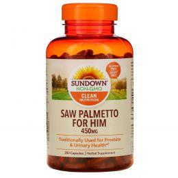 Sundown Naturals, Со Пальметто (Сереноя) 250 капсул