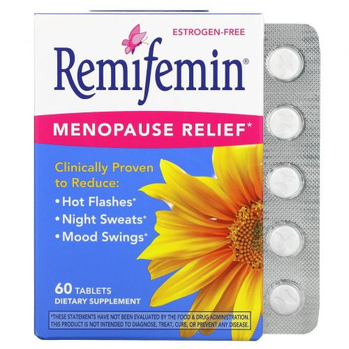 Nature's Way, Remifemin, Menopause Relief, 60 Tablets