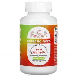 Eclectic Institute, Со пальметто, 600 мг, 240 капсул на растительной основе