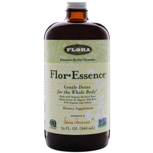 Flora, flor·essence, мягкое очищение организма, 2 1/8 унции (63 г.