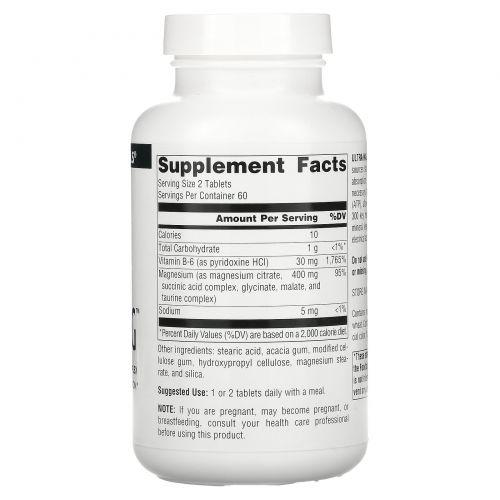 Source Naturals, Комплекс Ultra-Mag, 120 таблеток