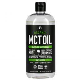 Sports Research, Органическое масло с среднецепочечными триглицеридами, без вкуса, 32 ж. унц. (946 мл)