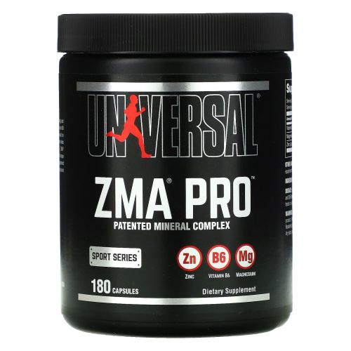 Universal Nutrition, ZМА Pro, 180 капсул
