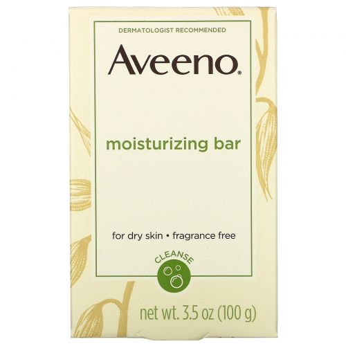 Aveeno, Active Naturals, увлажняющее средство, без отдушек, 3.5 унции (100 г)