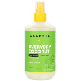 Everyday Coconut, Face Toner, For All Skin Types, Coconut Water, 12 fl oz (354 ml)