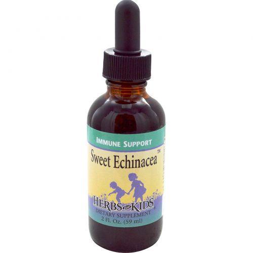 Herbs for Kids, Сладкая эхинацея, 2 жидких унции (59 мл)