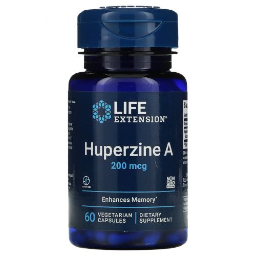 Life Extension, Гиперзин А, 200 мкг, 60 таблеток