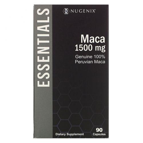 Nugenix, Peruvian Maca, 1,500 mg, 90 Capsules