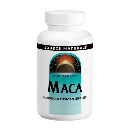 Source Naturals, Мака, 60 таблеток